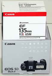 Canon EOS 5D MARK II + 135 mm f/2.8L II USM EF